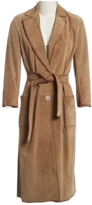 Ungaro Brown Suede Coats