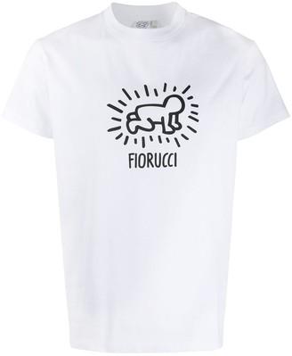 Fiorucci x Keith Haring logo T-shirt