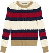 Gucci Striped knit top