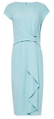 Dorothy Perkins Womens Luxe Mint Ring Crepe Shift Dress