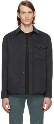 Rag & Bone Grey Principle Shirt Jacket