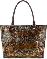 Patricia Nash Metallic Zancona Medium Tote, Created for Macy's