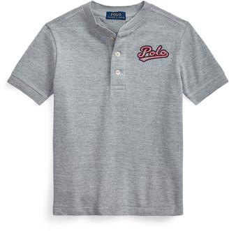 Ralph Lauren Cotton Mesh Henley Shirt