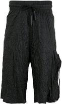 Barbara I Gongini drawstring waistband shorts - men - nylon -12 - 46