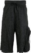 Barbara I Gongini drawstring waistband shorts - men - nylon -12 - 48