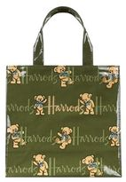 Harrods Small Rufus Bear Shopper Bag