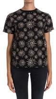 Fausto Puglisi Women's Black Cotton T-shirt.