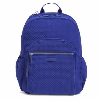 Vera Bradley Women's Microfiber Campus Backpack Classic One Size