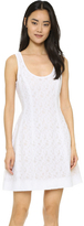Prabal Gurung Fil Coupe Cotton Dress