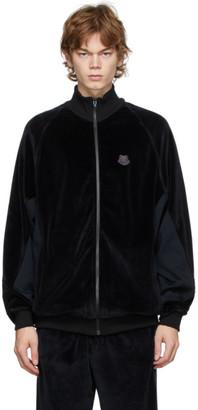 Kenzo Black Oversize Track Jacket