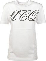 McQ by Alexander McQueen Tattoo Print T-Shirt