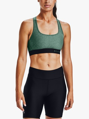 Under Armour Mid Armour Crossback Heathered Sports Bra