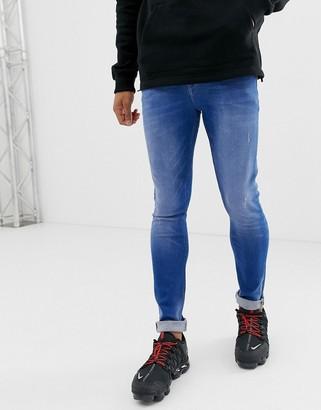 Asos Design DESIGN skinny jean in bright blue