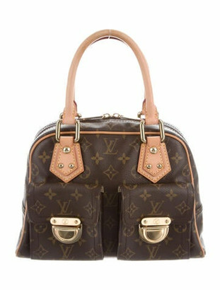 Louis Vuitton Vintage Monogram Manhattan PM Brown