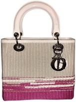Christian Dior Lady Multicolour Patent leather Handbags
