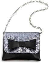 Capelli Girls' Glitter Bow Bag