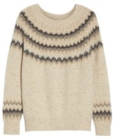Vince Women's Fair Isle Cashmere Sweater