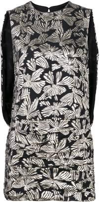 Saint Laurent floral short dress