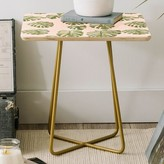 Oasis Dash and Ash Palm Square End Table East Urban Home