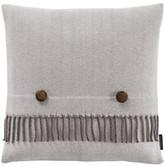 "Pendleton Herringbone Decorative Pillow - 18\"" x 18\"" - Grey"