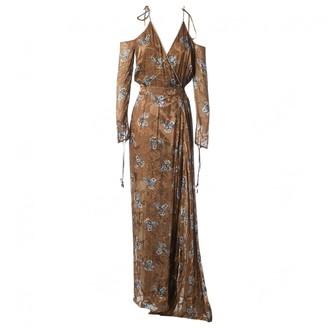 Preen by Thornton Bregazzi Khaki Viscose Dresses