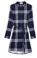Two by Vince Camuto Plaid Shirtdress