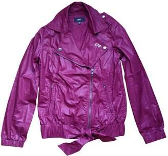 Obey Burgundy Jacket for Women