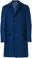 Canali single breasted coat - men - Cupro/Wool - 48