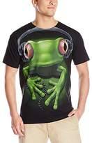 Liquid Blue Men's Frog Rock T-Shirt