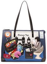 Tua Cartoline Business Trip Shopper Bag