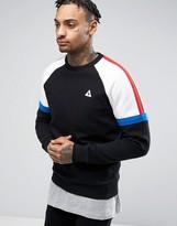 Le Coq Sportif Bbr Crew Sweatshirt In Black 1710870