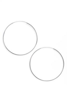 Argentovivo Extra Large Endless Hoop Earrings
