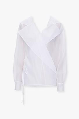 Forever 21 Sheer Mesh Jacket