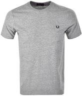 Fred Perry Crew Neck T Shirt Grey