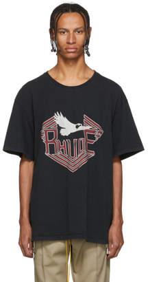 Rhude Black Rhanger T-Shirt