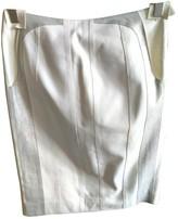 Loewe White Leather Skirts