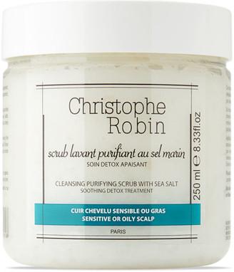 Christophe Robin Sea Salt Detoxifying Shampoo Scrub, 250 mL