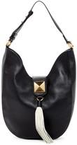 Badgley Mischka Bailey Leather Hobo Bag