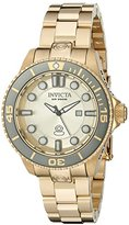 Invicta Women's 19822 Pro Diver Analog Display Swiss Quartz Gold Watch