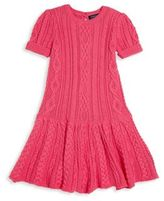 Ralph Lauren Toddler's & Little Girl's Sweet Drop-Waist Sweater Dress