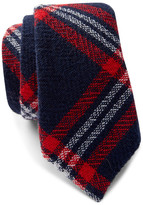 Alexander Olch Narrow Plaid Tie