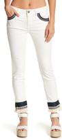 Romeo & Juliet Couture Geo Trim Skinny Jean