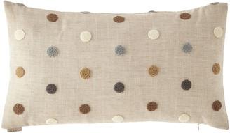 D.V. Kap Home Puff Dotty Natural Pillow