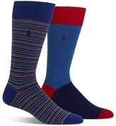 Polo Ralph Lauren Patterned Socks - Pack of 2