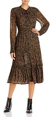 Derek Lam 10 Crosby Sammy Printed Midi Dress