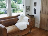 The Well Appointed House Single Modern Country Sheepskin Rug-Available in Different Colors