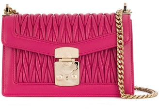 Miu Miu Miu Confidential Matelasse shoulder bag
