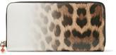 Christian Louboutin Panettone Dégradé Leopard-print Leather Continental Wallet - Brown