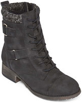 POP Womens Combat Boots
