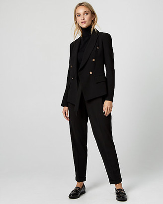 Le Château Crepe Double Breasted Blazer